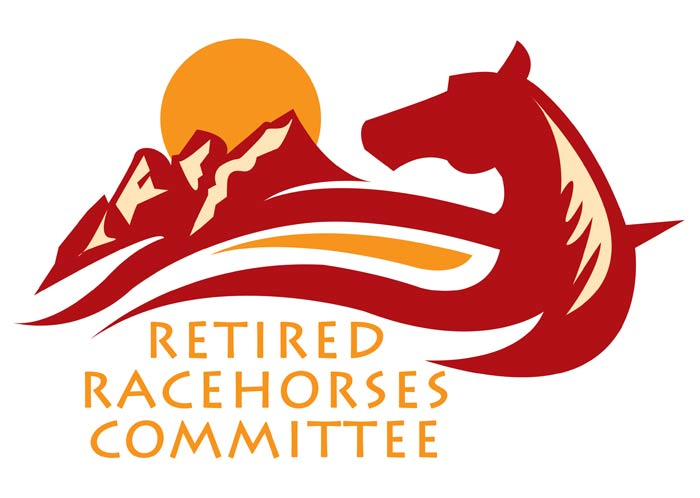 The official logo of 'Retired Racehorses Committee'